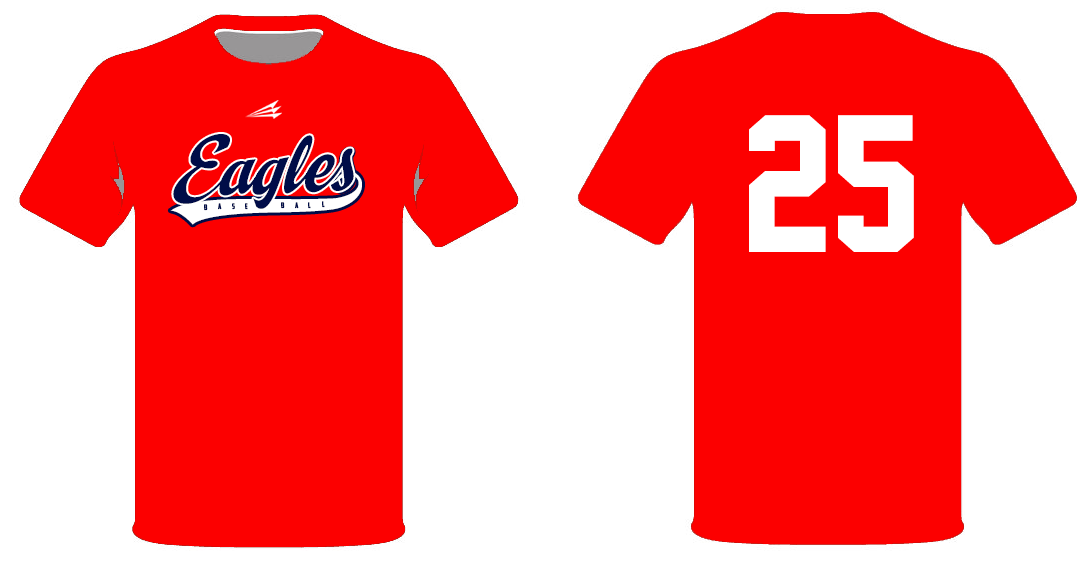 Tanksley eagles custom throwback baseball jerseys custom for Custom baseball shirts no minimum
