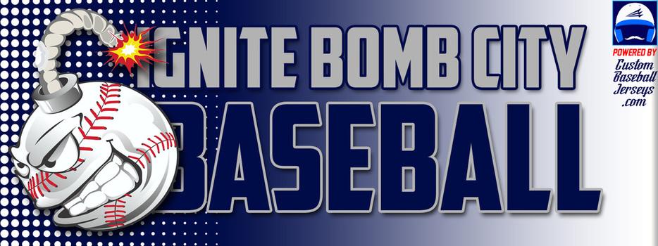 ignite bomb squad custom throwback baseball jerseys