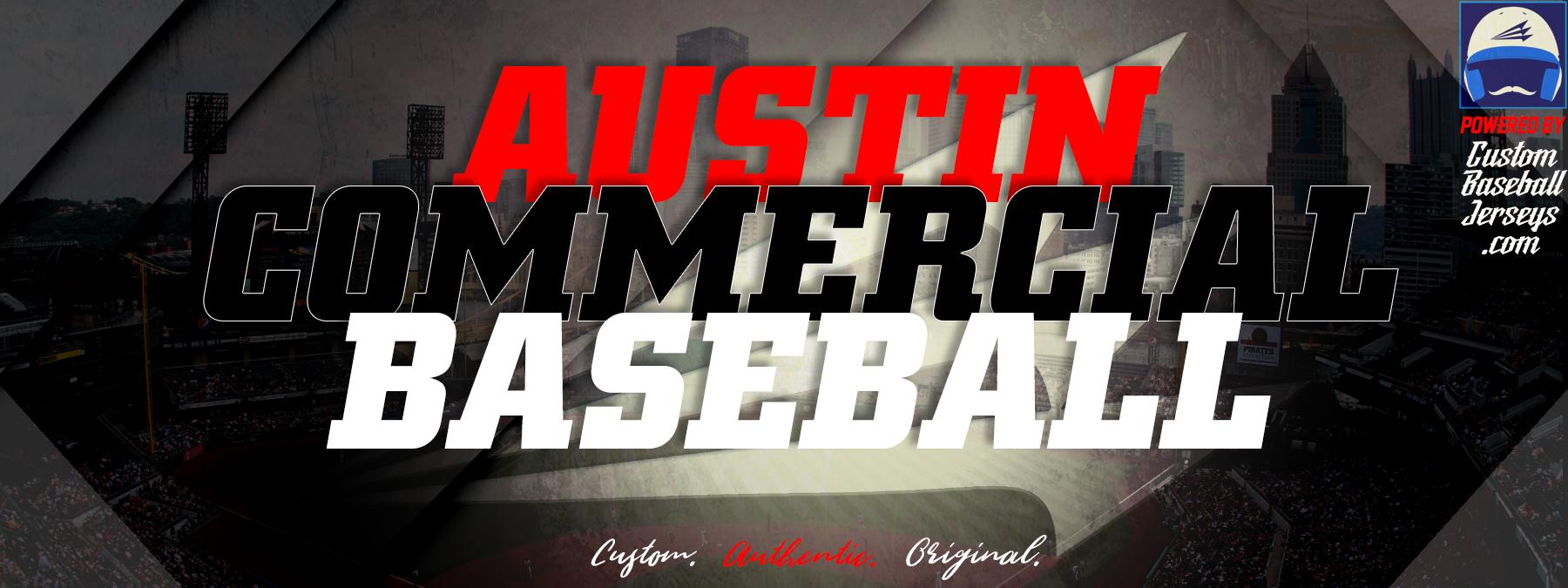 4eab907b0 Austin Commercial Custom Throwback Baseball Jerseys - Custom Baseball  Jerseys.com - The World s  1 Choice for Custom Baseball Uniforms