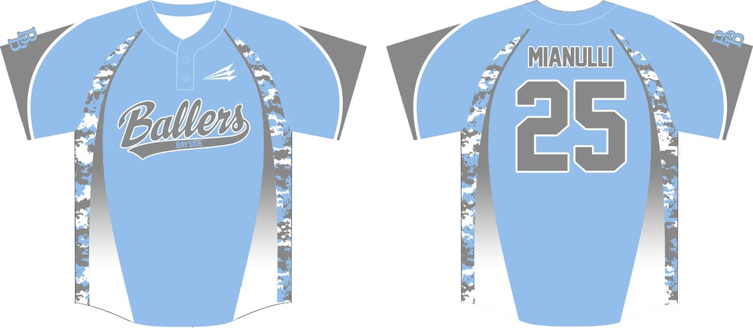bayside ballers custom baseball jerseys