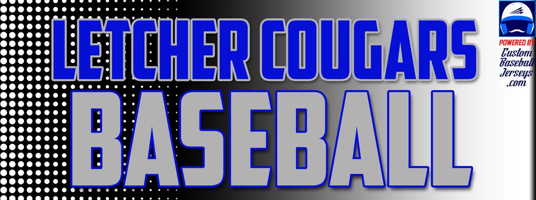 9e8f6a3e5de Letcher County Central High School Cougars Custom Throwback Baseball ...