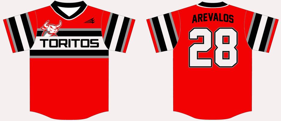 San Antonio Toritos Custom Baseball Jerseys Custom