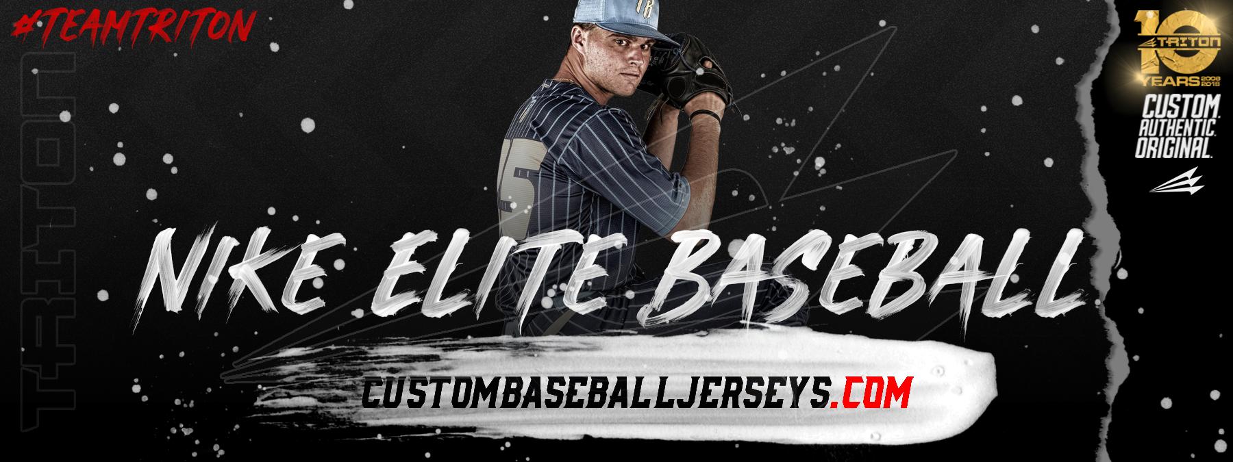 mago dos Amargura  Nike Elite Custom Traditional Baseball Jerseys - Custom Baseball Jerseys  .com - The World's #1 Choice for Custom Baseball Uniforms